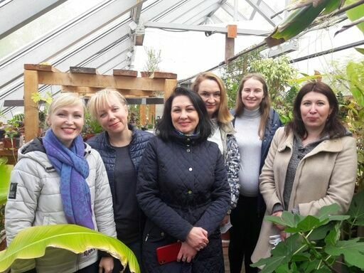 Совет молодых нотариусов на учебно-опытном участке Дворца